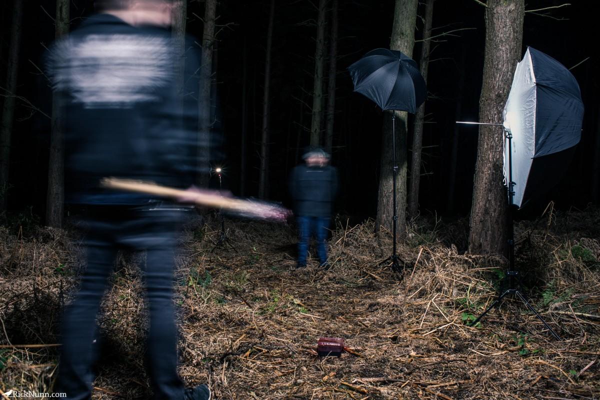 Walking Dead Cosplay – Negan - Negan Walking Dead Cosplay BTS Photographed by Rick Nunn