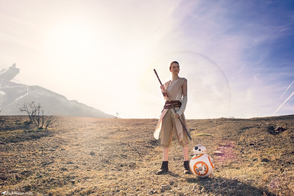 Star Wars Cosplay — Rey - Star Wars Cosplay - Rey 1 Photographed by Rick Nunn