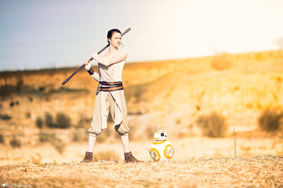 Star Wars Cosplay — Rey - Star Wars Cosplay - Rey 2 Photographed by Rick Nunn