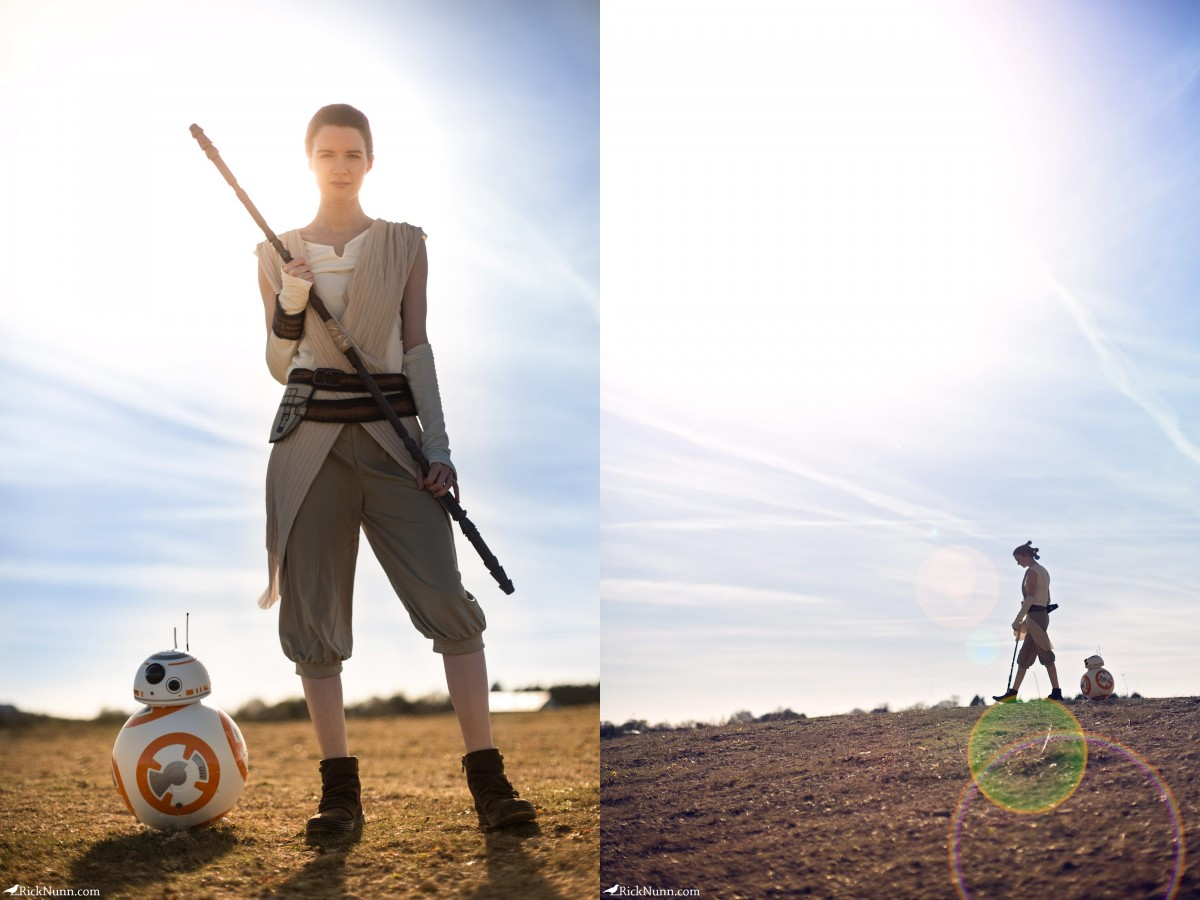 Star Wars Cosplay — Rey - Star Wars Cosplay - Rey 3 Photographed by Rick Nunn