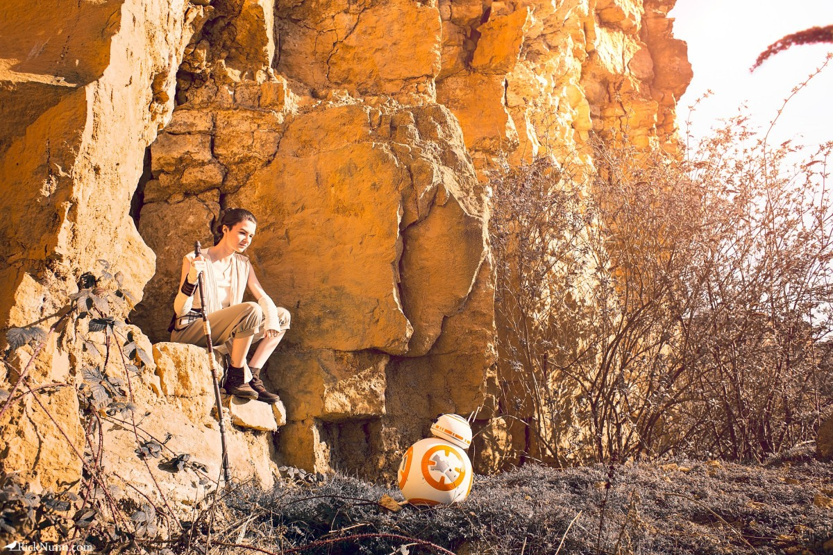 Star Wars Cosplay — Rey - Star Wars Cosplay - Rey 4 Photographed by Rick Nunn