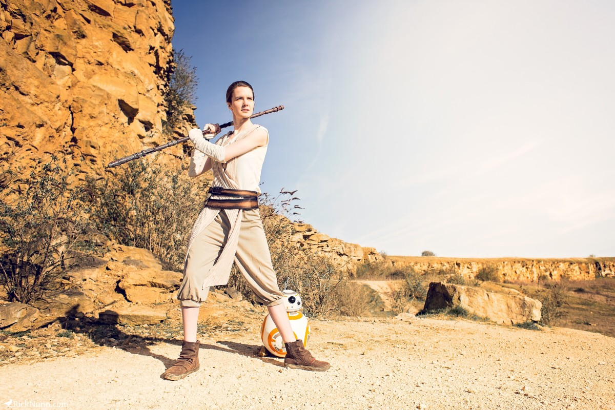Star Wars Cosplay — Rey - Star Wars Cosplay - Rey 5 Photographed by Rick Nunn