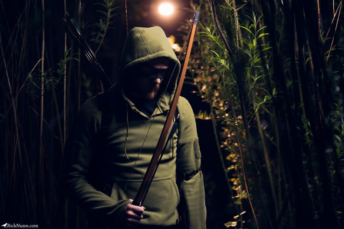 Green Arrow Cosplay — Dishonor - Green Arrow Cosplay 2 Photographed by Rick Nunn