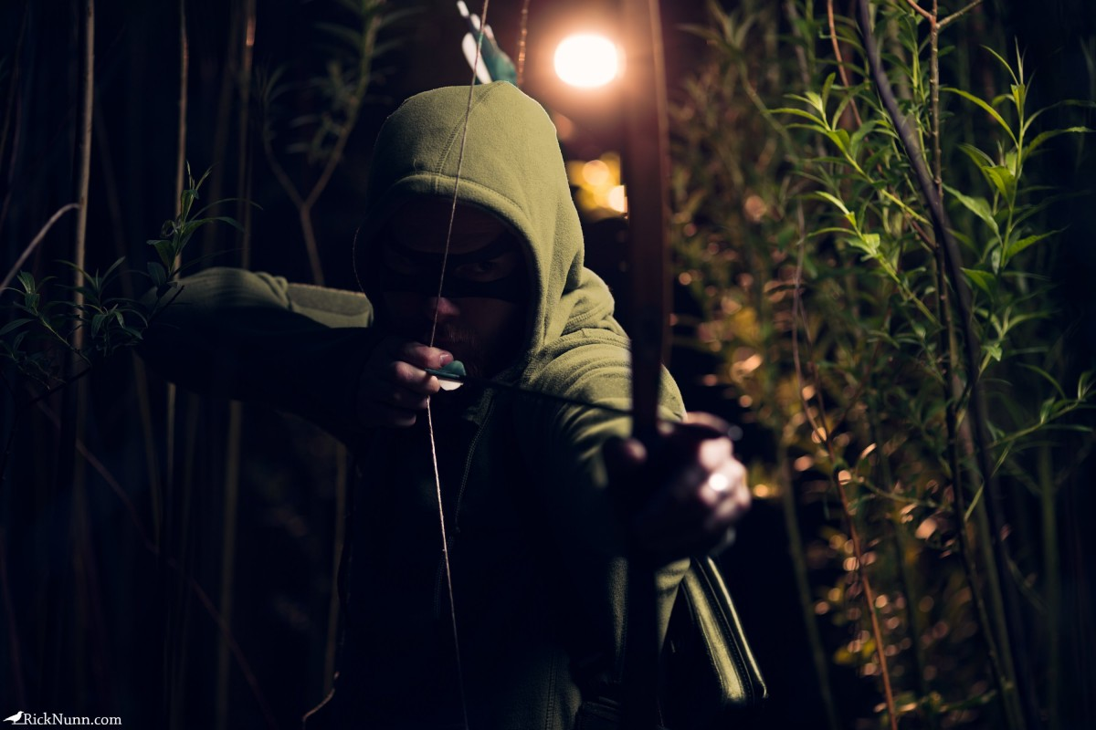 Green Arrow Cosplay — Dishonor - Green Arrow Cosplay 3 Photographed by Rick Nunn