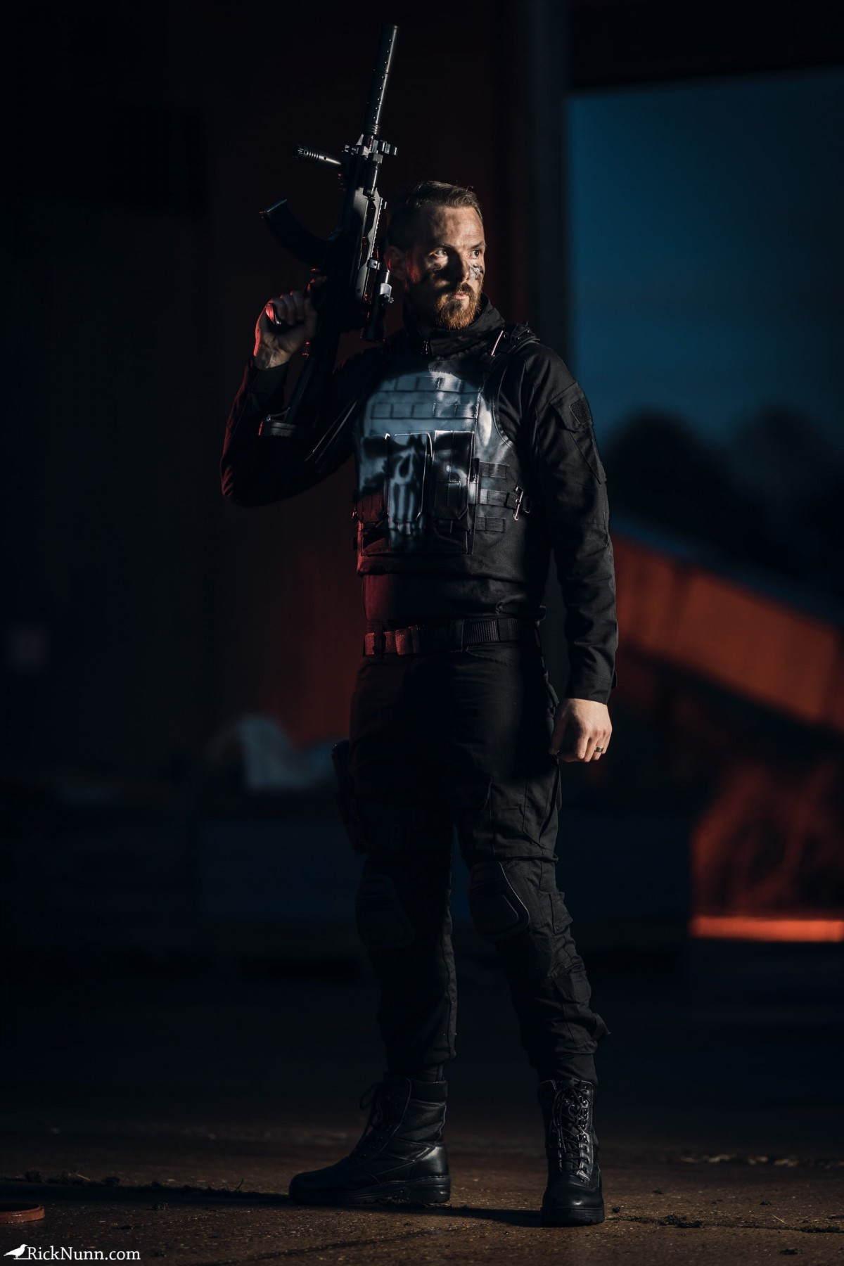 The Punisher Cosplay - The Punisher - Straight To Hell - 2 Photographed by Rick Nunn