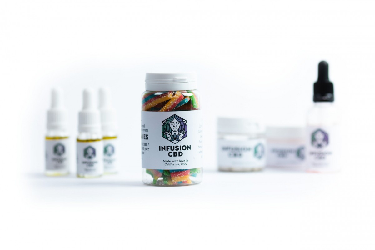 Infusion CBD Product Photography - Infusion Studio 2 Photographed by Rick Nunn