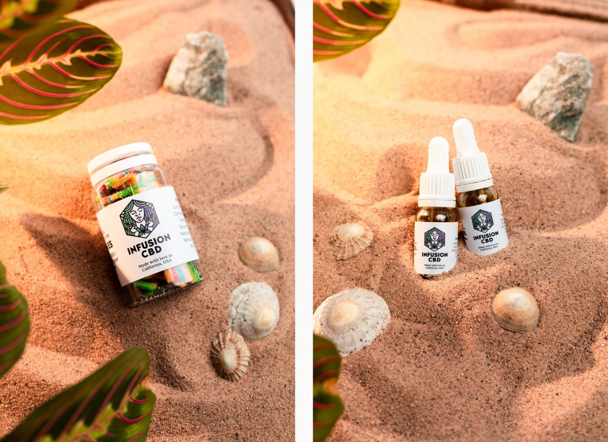 Infusion CBD Product Photography - Infusion Studio 6 Photographed by Rick Nunn
