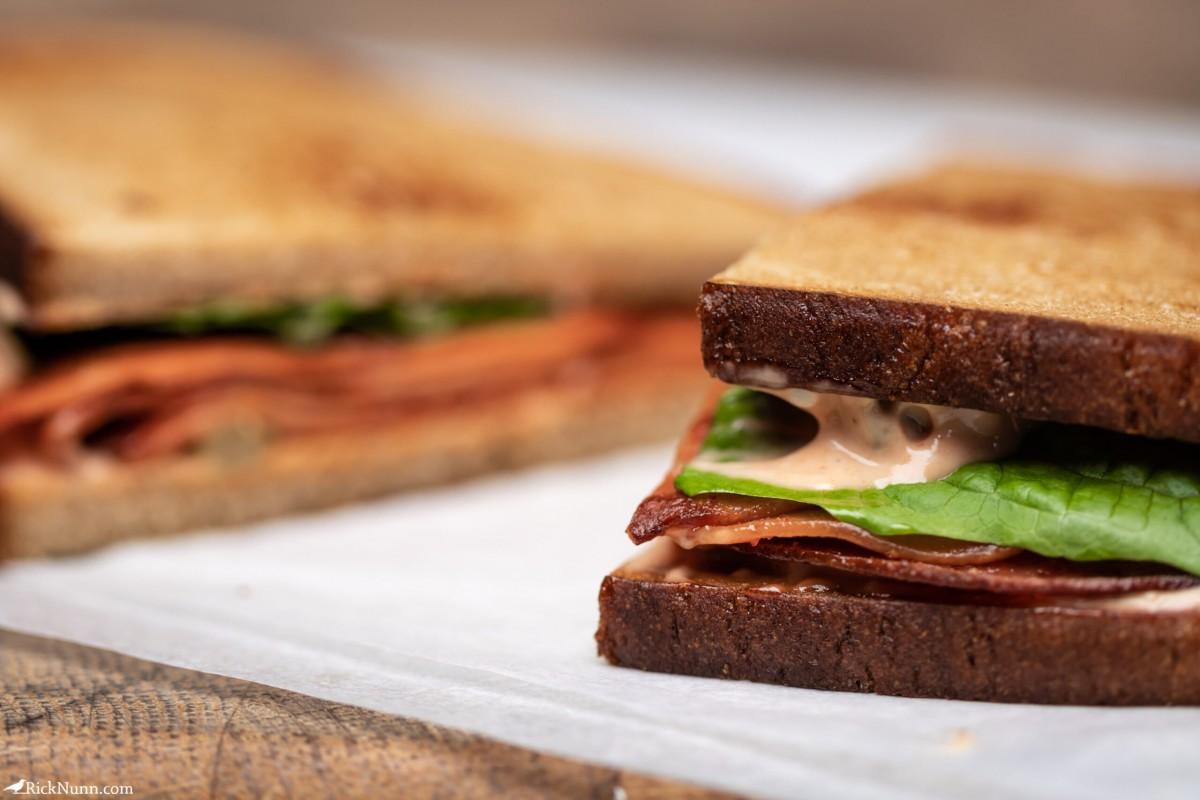 Arkansas Fried Bologna Sandwich - Arkansas Fried Bologna Sandwich 01 Photographed by Rick Nunn