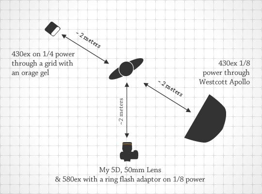 Lighting Diagram for Sarah